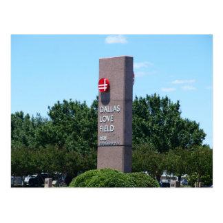 Cartão Postal Campo do amor de Dallas