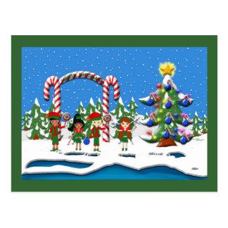 Cartão Postal Campo do inverno