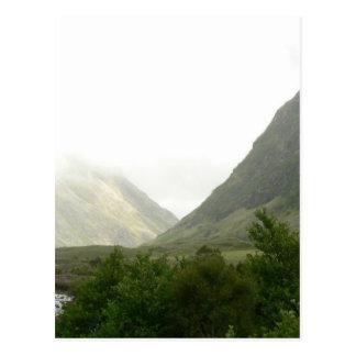 Cartão Postal Campo escocês Forrest
