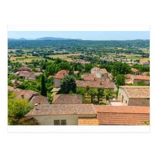 Cartão Postal Campo francês na fotografia de Provence