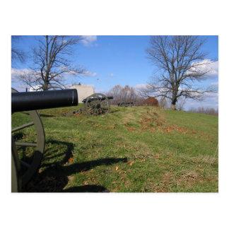 Cartão Postal Campos de batalha de Gettysburg
