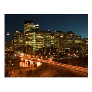 Cartão Postal Canadá, Alberta, Calgary: Calgary do centro,