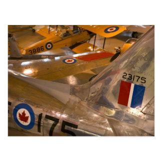 Cartão Postal Canadá, Alberta, Calgary: Museu de espaço Aero de