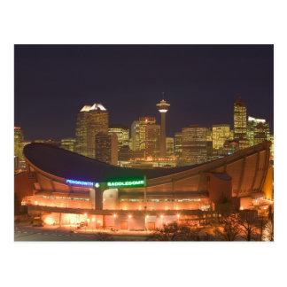 Cartão Postal Canadá, Alberta, Calgary: Skyline da cidade de