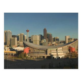 Cartão Postal Canadá, Alberta, Calgary: Skyline da cidade de 3
