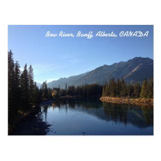 Cartão Postal Canadense Montanhas Rochosas - Banff, Alberta,