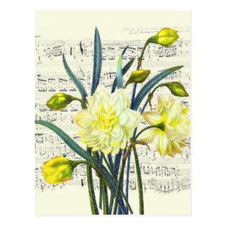 Cartão Postal Canção da primavera
