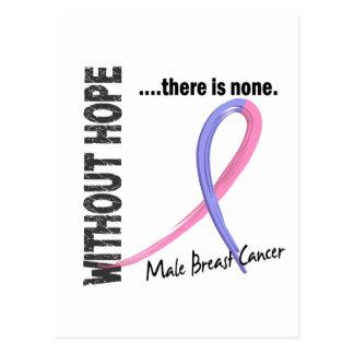 Cartão Postal Cancro da mama masculino sem esperança 1