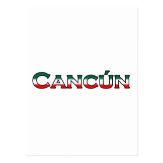 Cartão Postal Cancun (logotipo do texto)