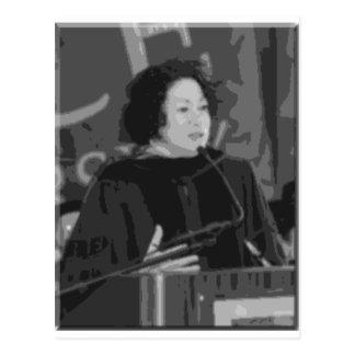 Cartão Postal Candidato da corte suprema de Sonia Sotomayor