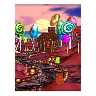 Cartão Postal Candyland