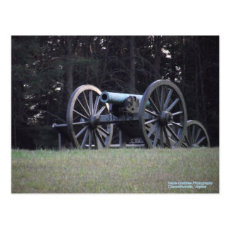 Cartão Postal Canhão da guerra civil