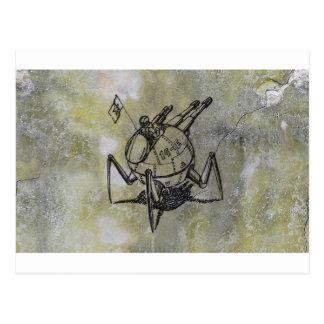 Cartão Postal canhão do vagem do caminhante