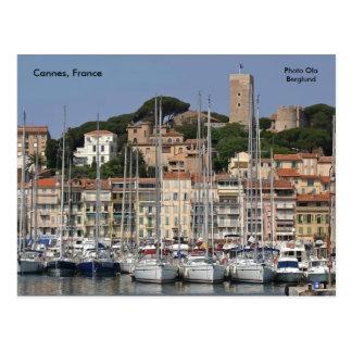 Cartão Postal Cannes, France, Ola Berglund da foto