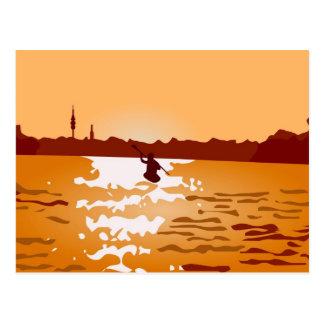 Cartão Postal Canoa