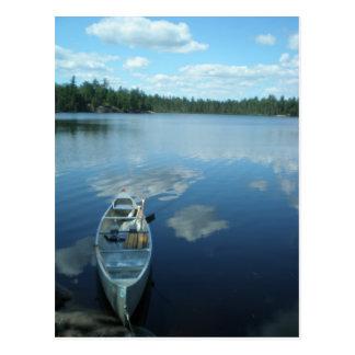 Cartão Postal Canoeing o limite molha v.1