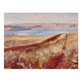 Cartão Postal Cantor Sargent- de John o Mar Morto