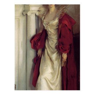 Cartão Postal Cantor Sargent- Winifred de John, duquesa de