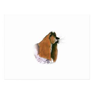 Cartão Postal Cão de Basset Hound, fernandes tony