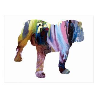 Cartão Postal Cão de Bull
