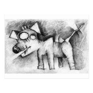 Cartão Postal cão de lancaster