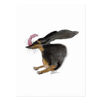 Cartão Postal Cão do Dachshund, fernandes tony
