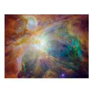 Cartão Postal Caos no centro de Orion