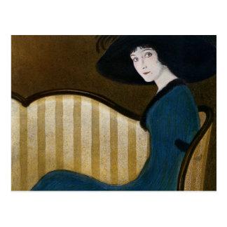 Cartão Postal Capa de revista 1911 do disco