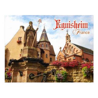 Cartão Postal Capela do castelo e do papa Rua Leo IX de