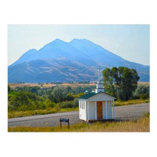 Cartão Postal Capela do vale do paraíso, Montana