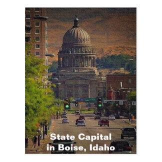 Cartão Postal Capital de estado em Boise, Idaho