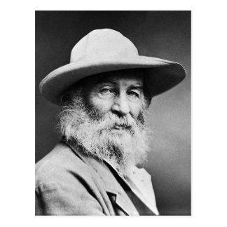 """Cartão Postal CAPITÃO O de Walt Whitman de """"! meu capitão! """""""