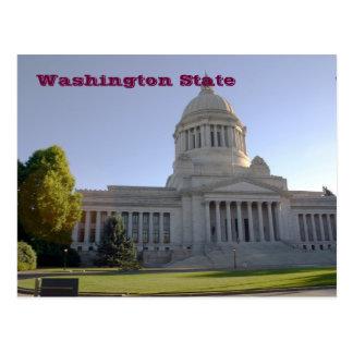 Cartão Postal Capitólio do estado de Washington, estado de