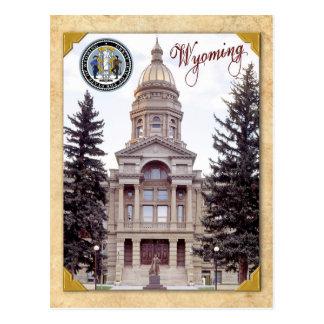 Cartão Postal Capitólio do estado de Wyoming, Cheyenne, WY