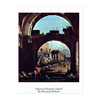 Cartão Postal Capitólio do romano do capricho por Bernardo