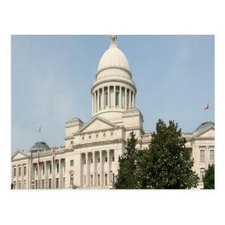 Cartão Postal Capitólio Little Rock do estado de Arkansas