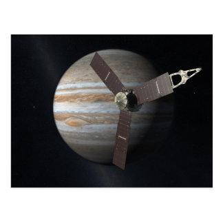 Cartão Postal Capitulação do artista da que orbita de JUNO em
