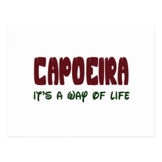 Cartão Postal Capoeira é um modo de vida