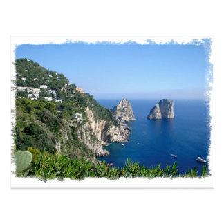 Cartão Postal Capri