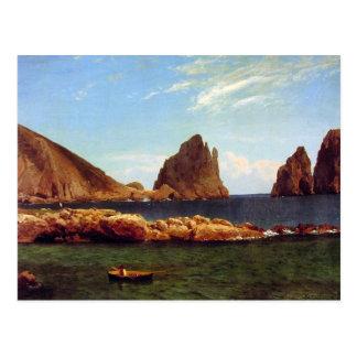 Cartão Postal Capri - Albert Bierstadt