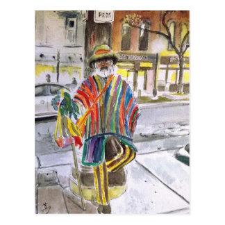 Cartão Postal Cara da malha no mandril principal de St Ann,