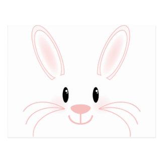 Cartão Postal Cara do coelho