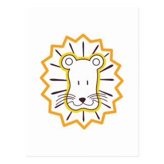 Cartão Postal Cara do leão