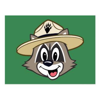 Cartão Postal Cara do rick da guarda florestal do rick | da