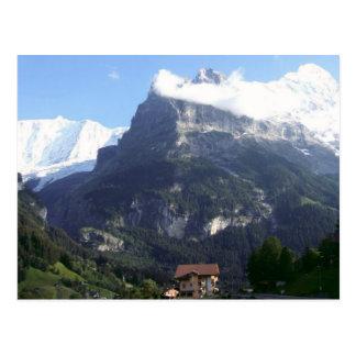 Cartão Postal Cara norte do Eiger