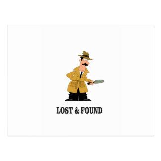 Cartão Postal cara perdida e encontrada