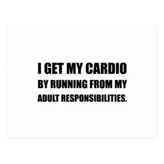 Cartão Postal Cardio- corredor das responsabilidades