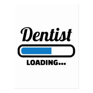 Cartão Postal Carga do dentista