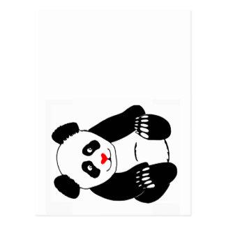 Cartão Postal Cargo da panda