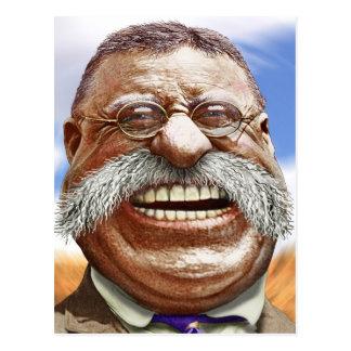 Cartão Postal Caricatura de Theodore Roosevelt